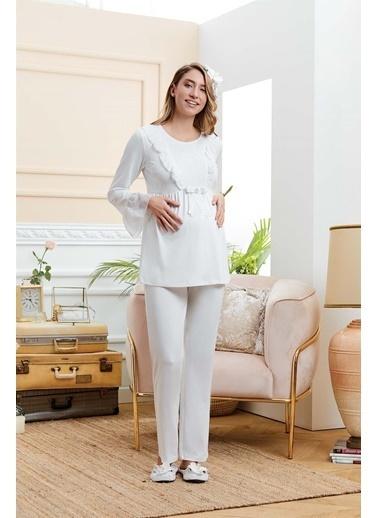 Cossy By Aqua Pijama Takım Krem